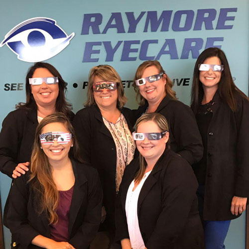 Raymore eyecare staff